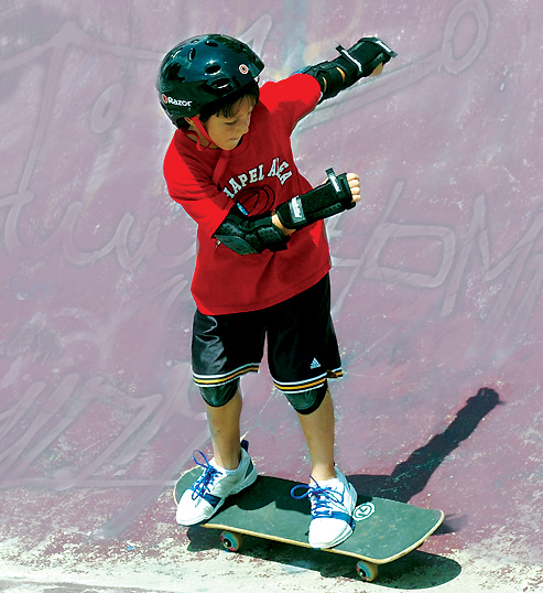 Pittsburgh Tribune Review - Skateboarding Photo