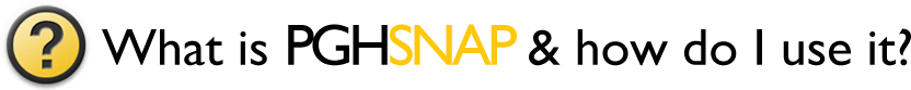 What is PGHSNAP & how do I use it?