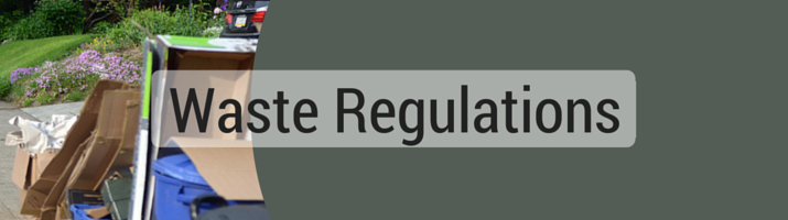 Waste Regulations