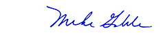 Mike Gable Signature