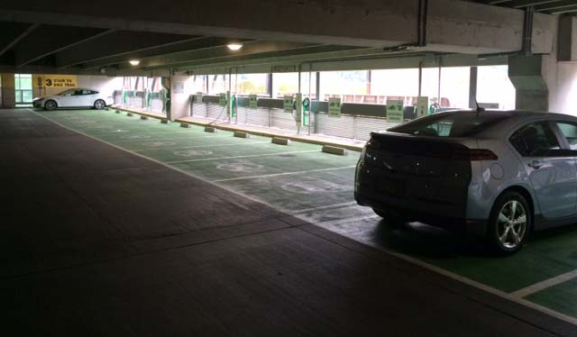 First Ave Garage EV Pad