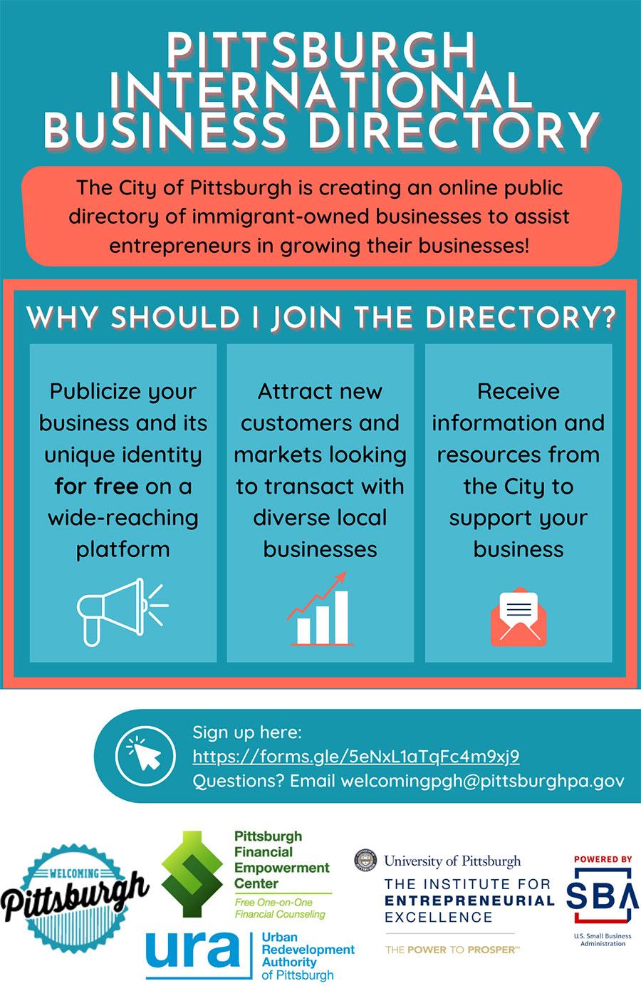 Pittsburgh International Business Directory
