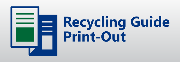 Download printable Blue Bin Program Flyer