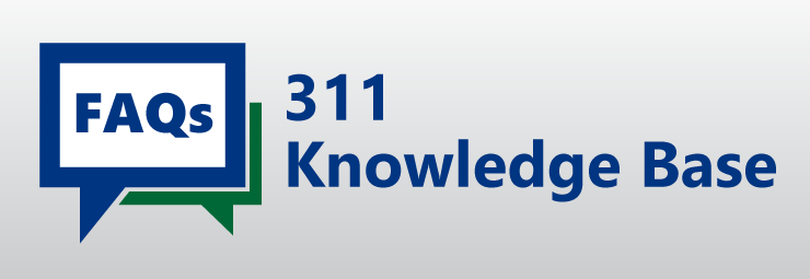 Link to the 311 Knowledge Base