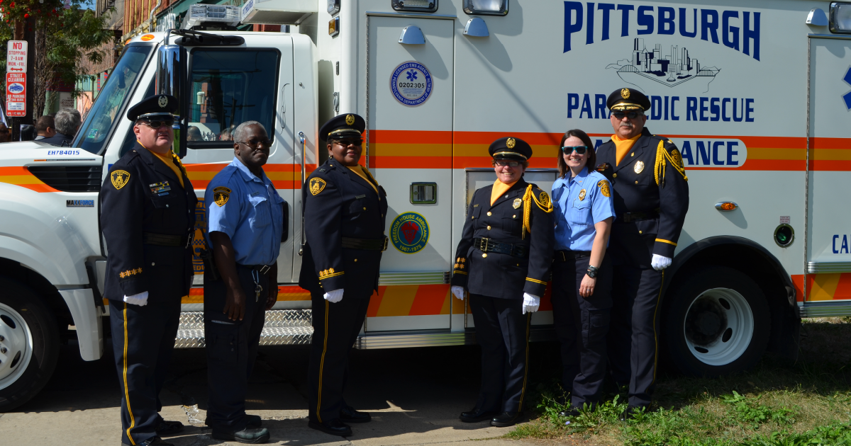 Pittsburgh Emergency Medical Services - Ambulance Divisions