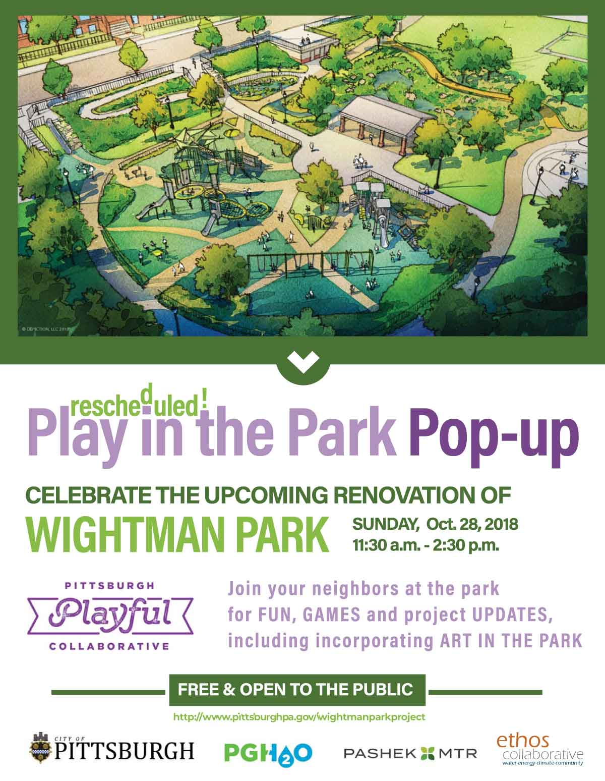Play In The Park Pop-up