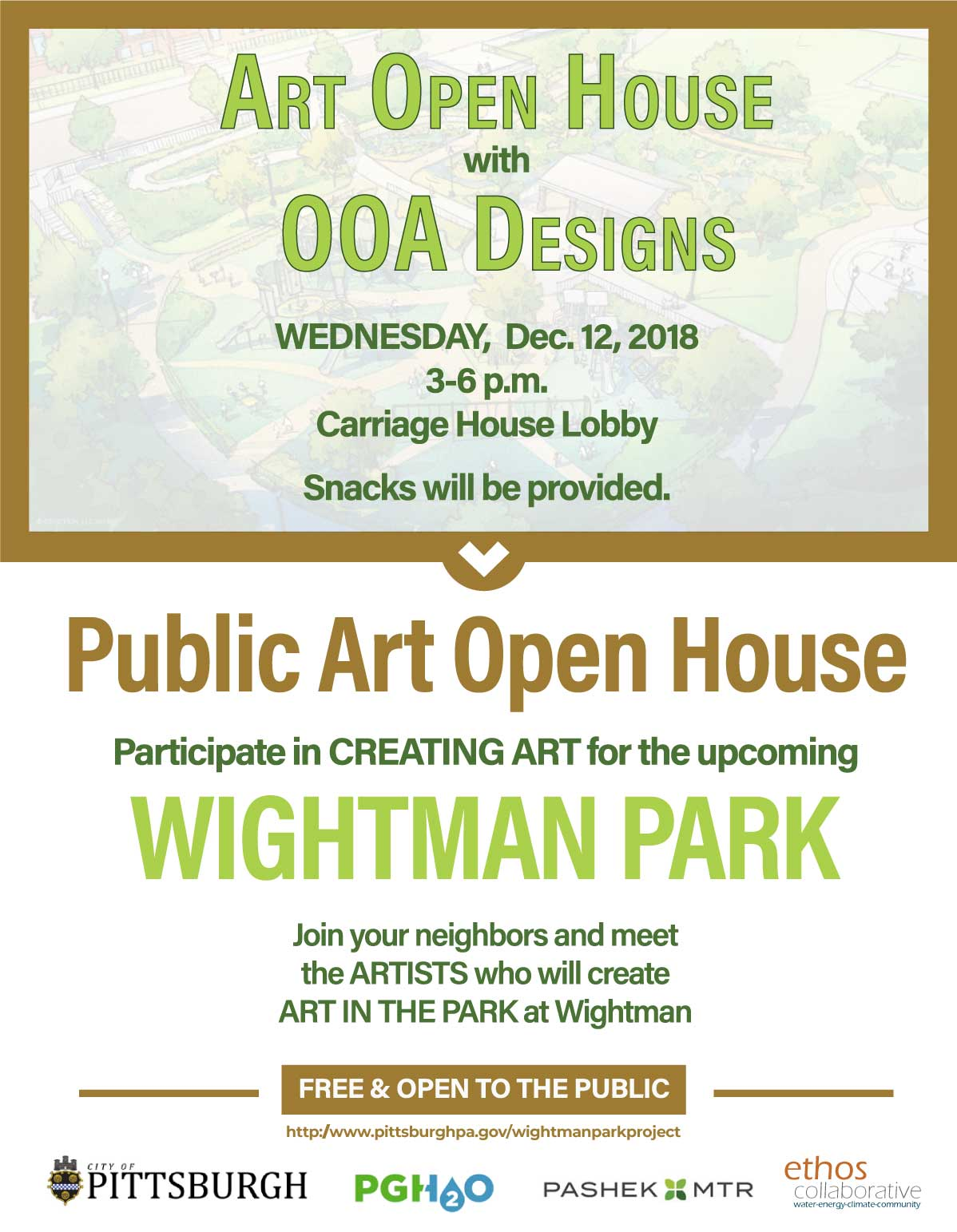 Art Open House Flyer