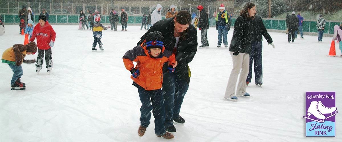 schenley ice skating rink - 1200×497