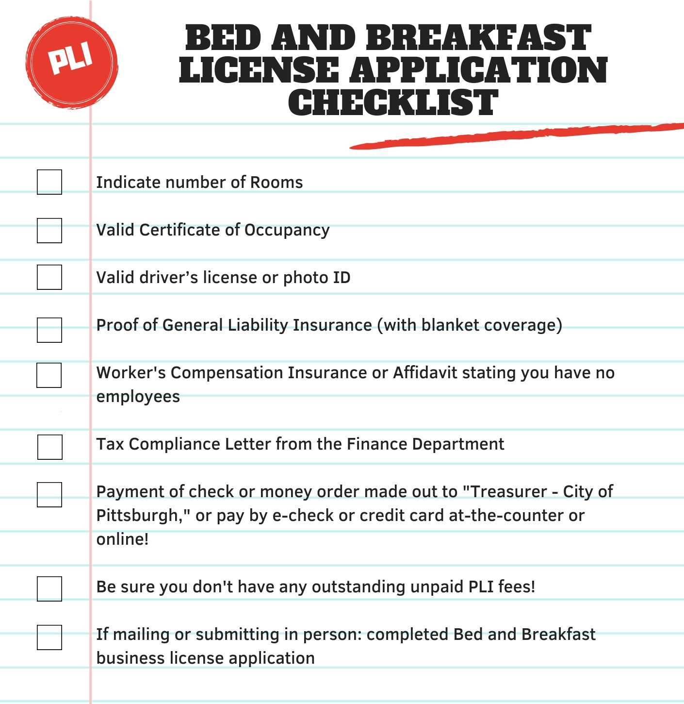 Bed And Breakfast License Pittsburghpa